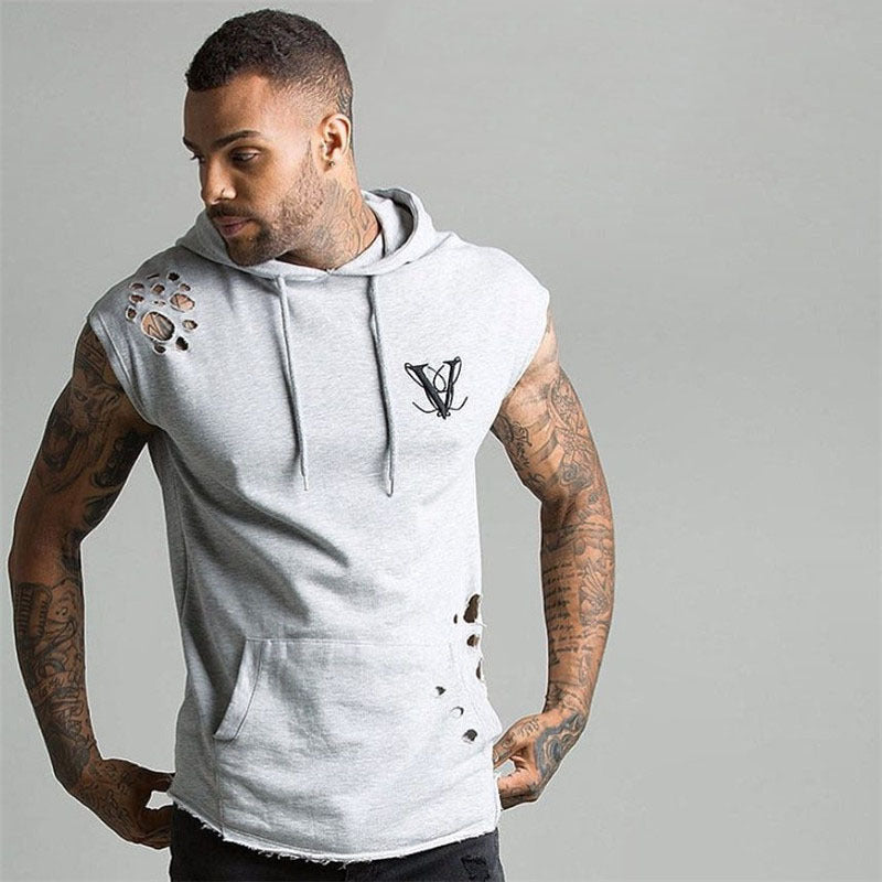 New Fashion Men Set Short Sleeve Hoodies+shorts Set Male Tracksuit Outdoors Suit Men's Gyms Set Casual Sportswear Suit