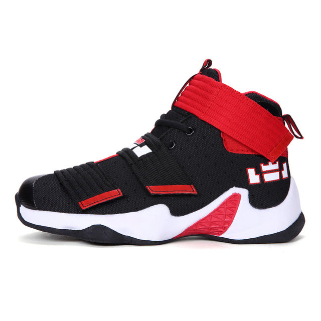 Men Basketball Shoes Couple Athletic Male Sneakers LBJ Sport Trainers Men High Top Outdoor Breathable Zapatillas De Baloncesto