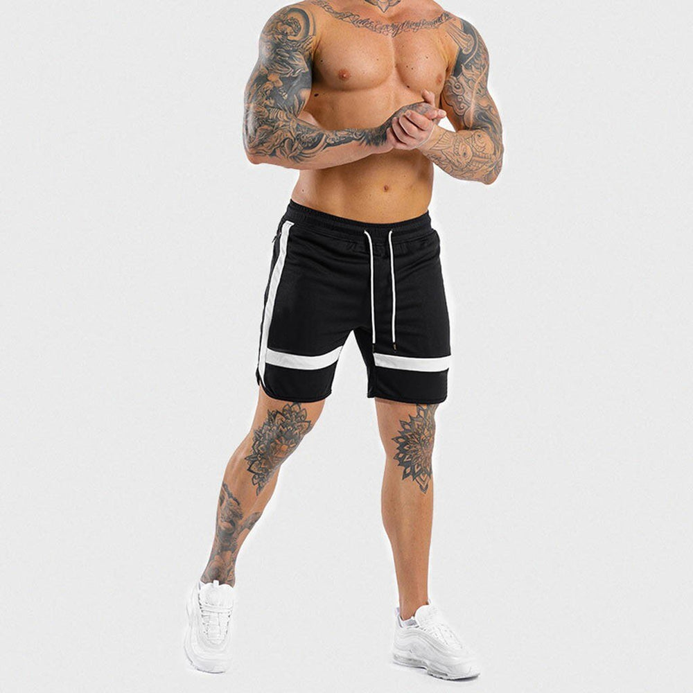 Summer Men's Pants Casual Cotton Sports Running Hip Hop Patchwork Pants New Fashion Muscle Streetwear Pants