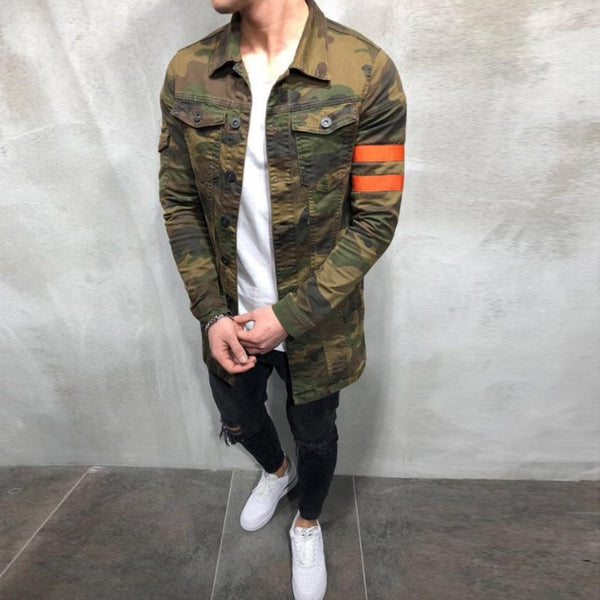 Mens Camouflage Military Jacket Spring Autumn Cargo Plus size S-XXXL Casual man Jackets Army Clothes Brand