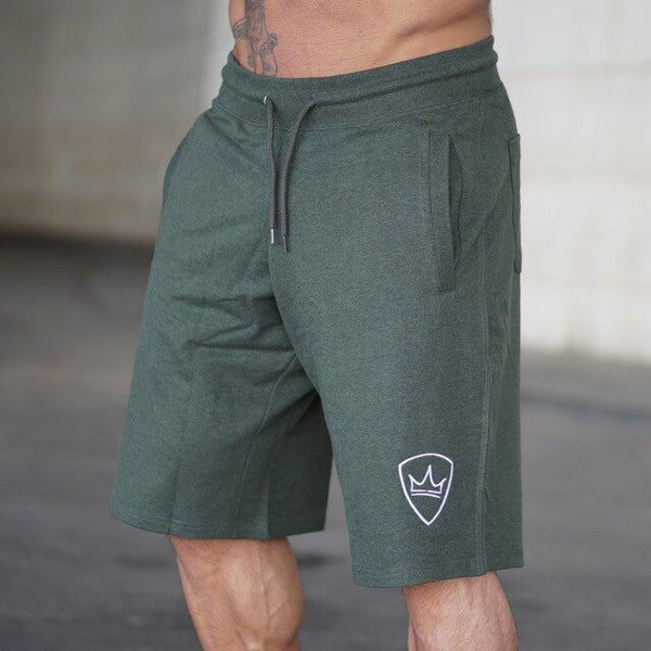 Men Brand Fitness Shorts Mens Professional Bodybuilding Short Pants brand Big Size M-XXL