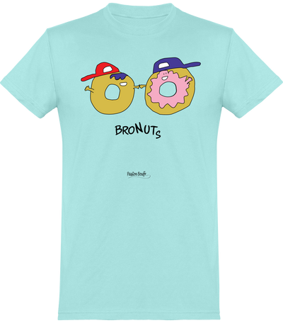 "T-shirt ""Bronuts ""-Passion Bouffe"