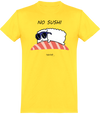 "T-shirt Col rond ""No sushi""-Passion Bouffe"