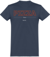 "T-shirt Col rond ""Pizza Mood""-Passion Bouffe"
