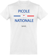 "T-shirt Col rond ""Picole Nationale""-Passion Bouffe"
