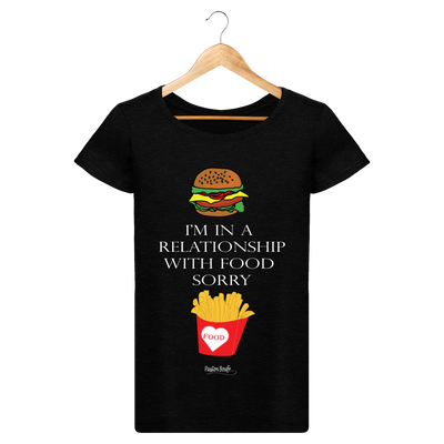 "T-shirt ""Relationship with food""-Passion Bouffe"