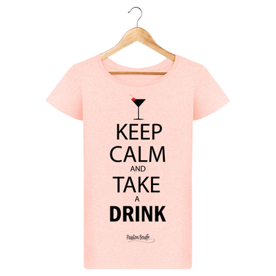 "T-shirt ""Take a drink""-Passion Bouffe"