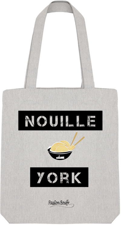 "Tote Bag ""Nouille York""-Passion Bouffe"