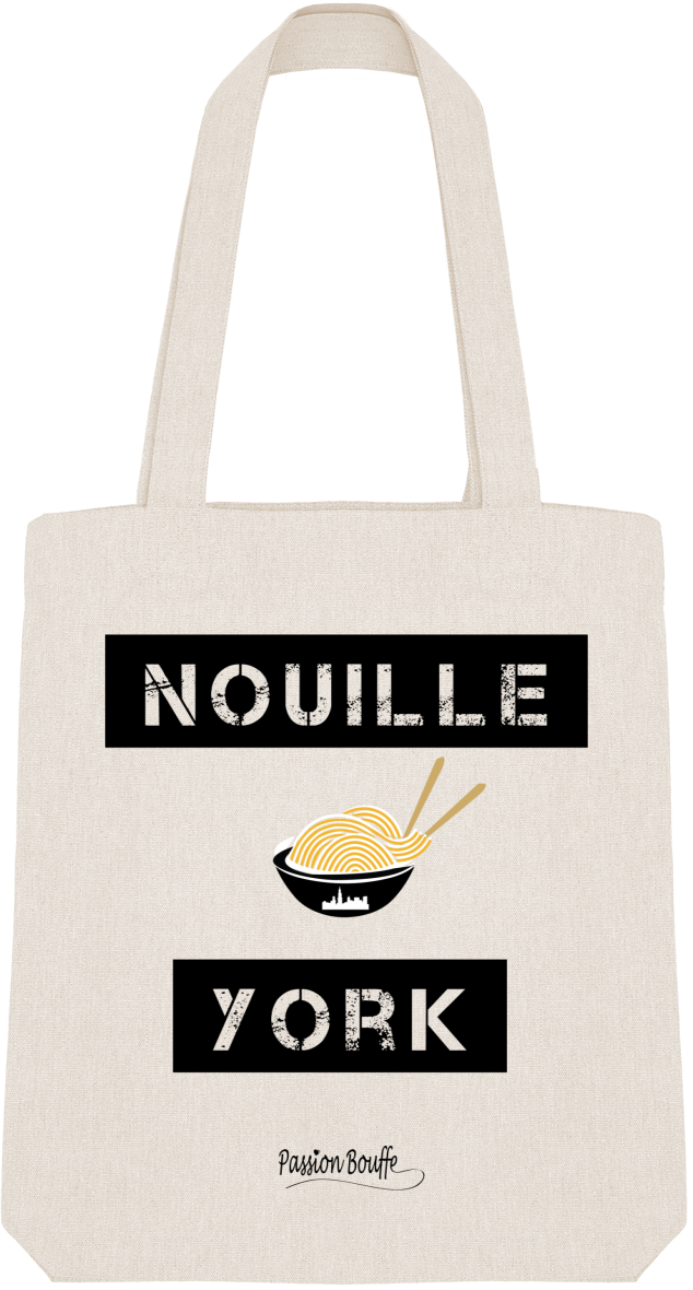 "Tote Bag ""Nouille York"""