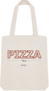 "Tote Bag ""Pizza Mood""-Passion Bouffe"