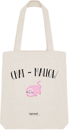 "Tote Bag ""Chat mallow""-Passion Bouffe"