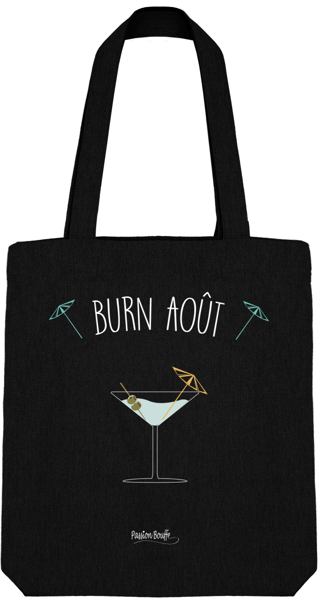 "Tote Bag ""Burn Août"""