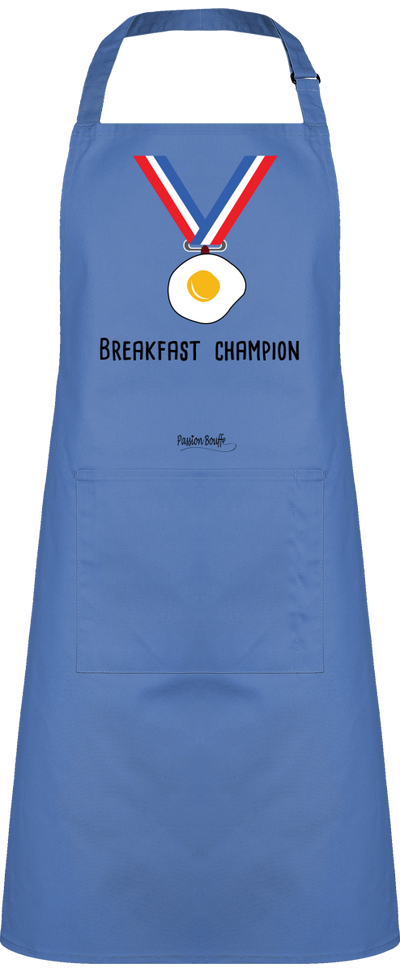 "Tablier ""Breakfast Champion""-Passion Bouffe"