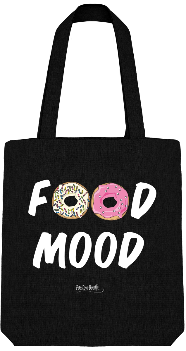 "Tote Bag ""Food Mood""-Passion Bouffe"