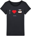 "T-shirt Femme ""I love Nutella""-Passion Bouffe"