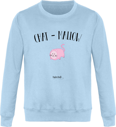 "Sweat ""Chat mallow""-Passion Bouffe"