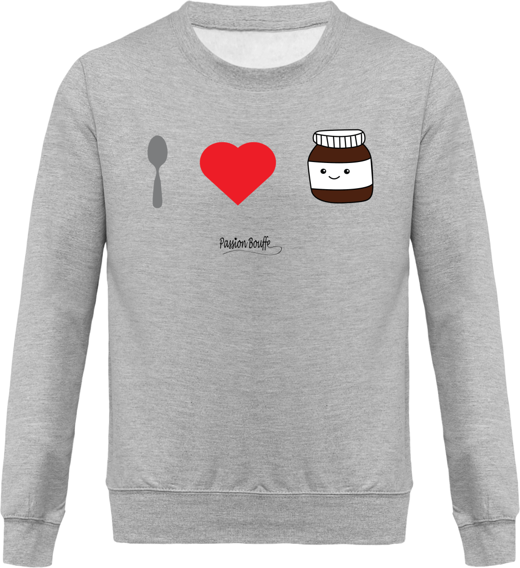 "Sweat ""I love Nutella"""