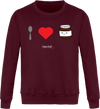 "Sweat ""I love Nutella""-Passion Bouffe"