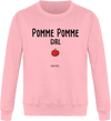 "Sweat ""Pomme Pomme Girl""-Passion Bouffe"
