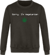 "Sweat ""Sorry, I'm Vegetarian""-Passion Bouffe"