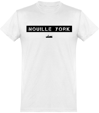 "T-shirt Homme ""Nouille York""-Passion Bouffe"