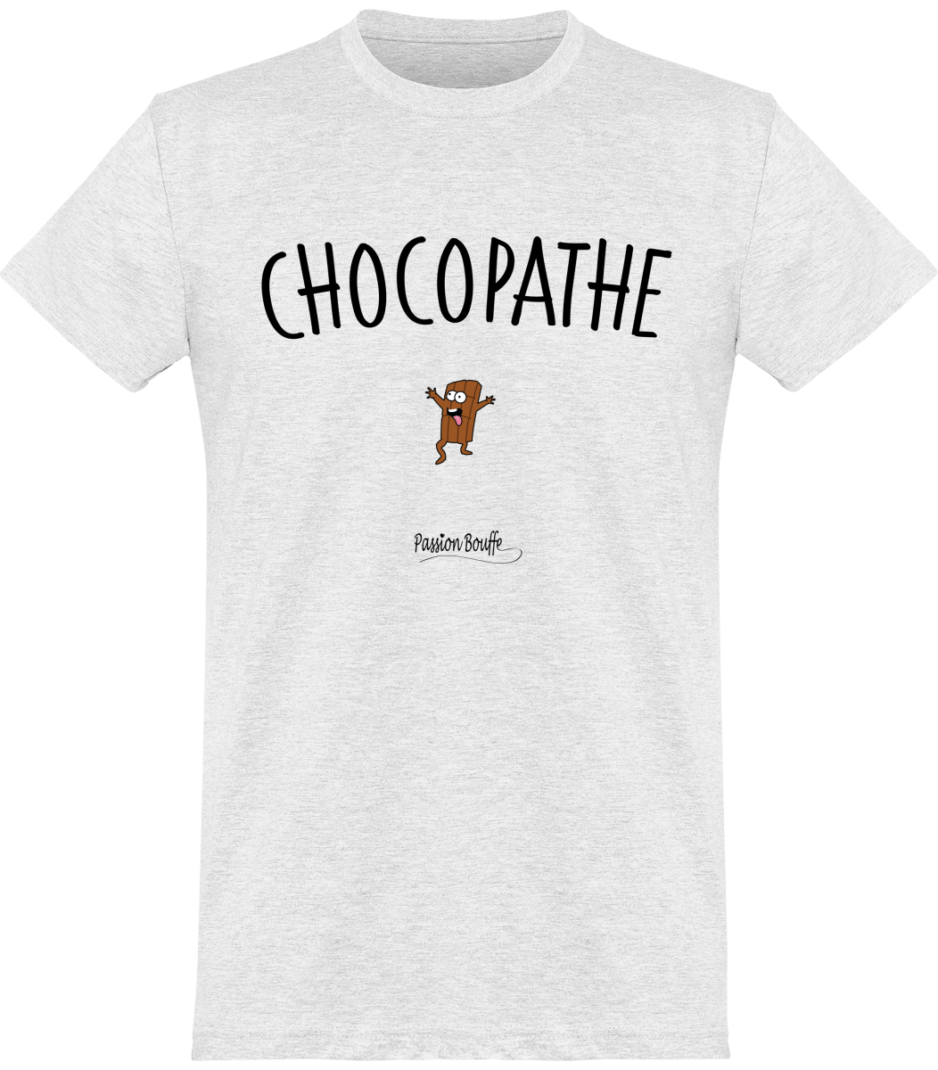 "T-shirt Homme ""Chocopathe""-Passion Bouffe"