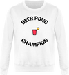 "Sweat ""Beer Pong Champion""-Passion Bouffe"
