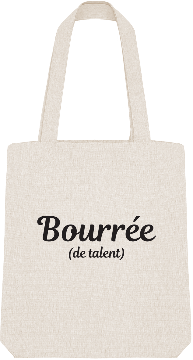 "Tote Bag ""Bourrée (de talent)"""