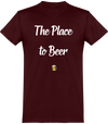 "Tee Shirt Homme ""The place to beer""-Passion Bouffe"