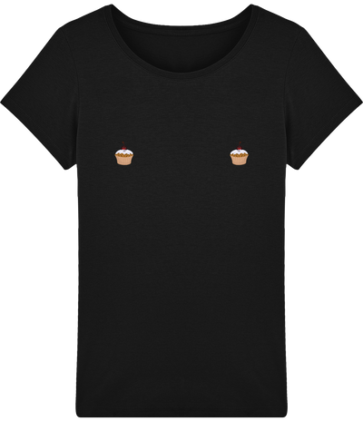 "T-shirt Femme ""Muffin""-Passion Bouffe"