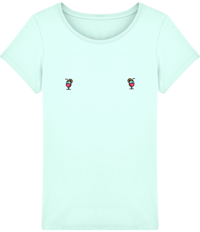 "T-shirt Femme ""cocktail""-Passion Bouffe"