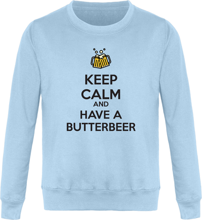 "Sweat ""Keep calm and have a Butterbeer""-Passion Bouffe"