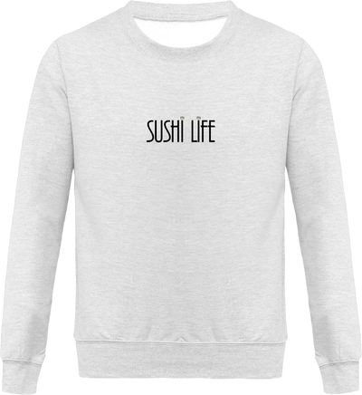 "Sweat ""Sushi life""-Passion Bouffe"