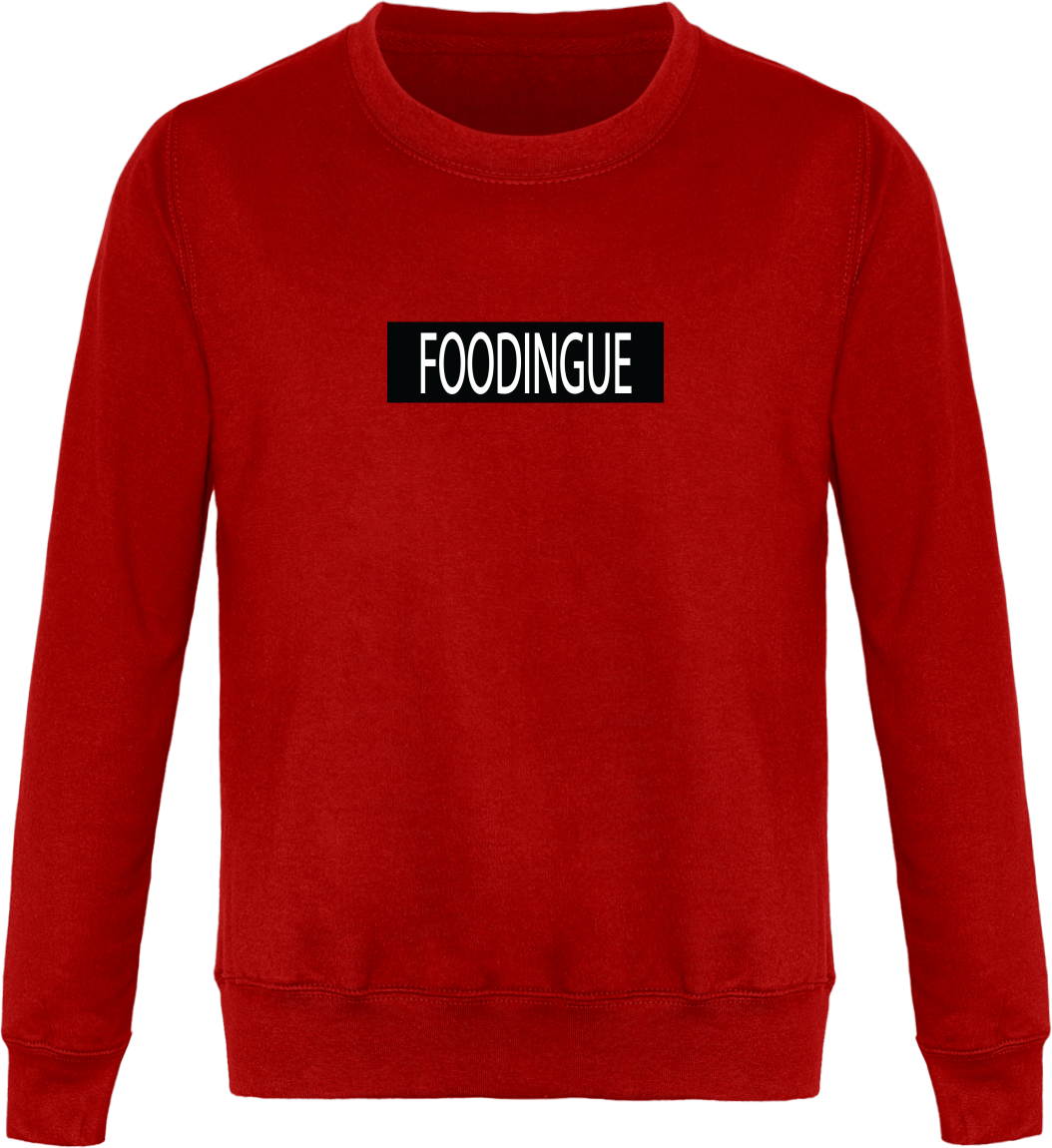 "Sweat ""FOODINGUE""-Passion Bouffe"