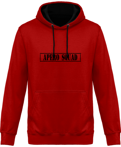 "Hoodie ""Apéro Squad""-Passion Bouffe"