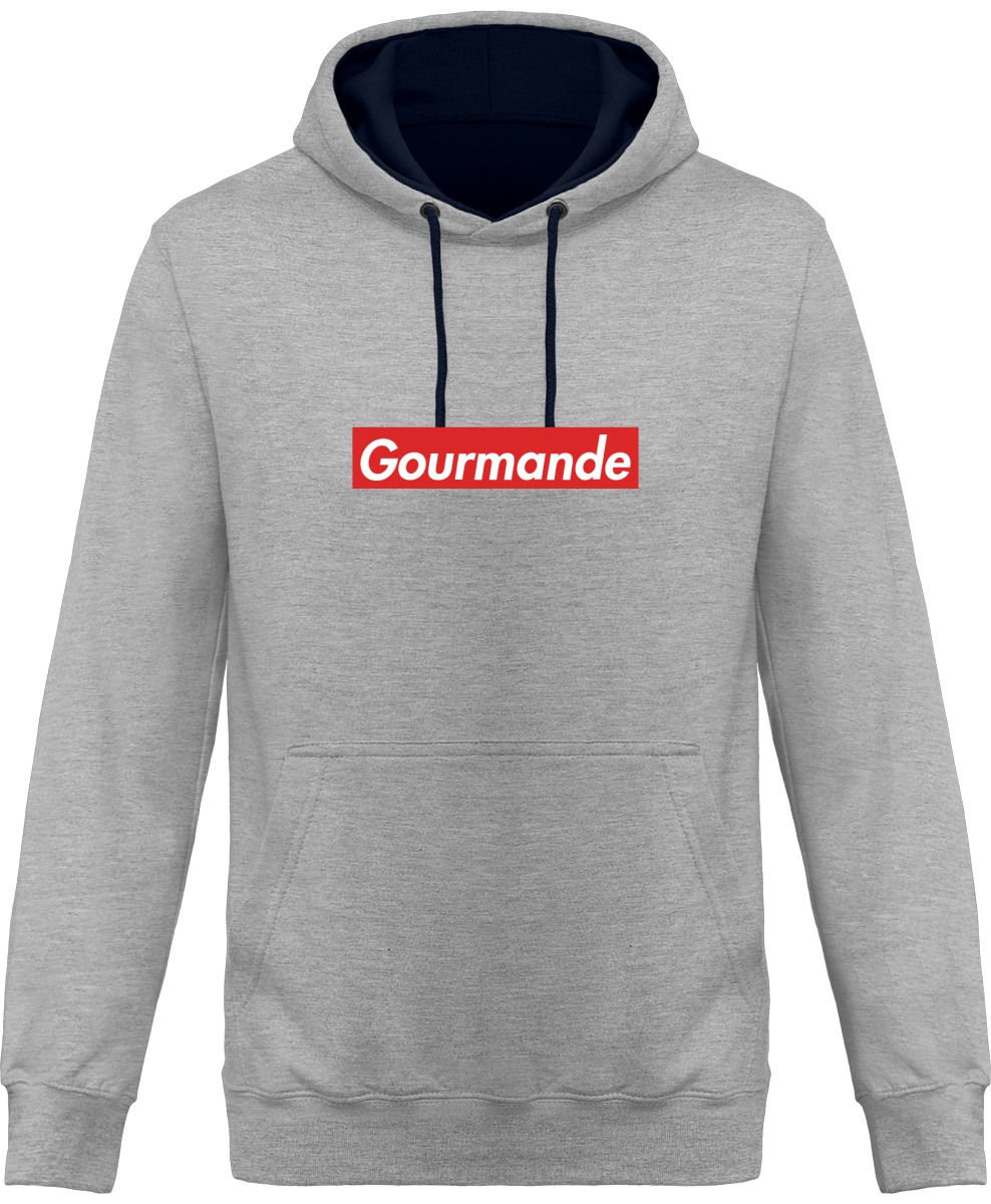"Hoodie ""Gourmande""-Passion Bouffe"