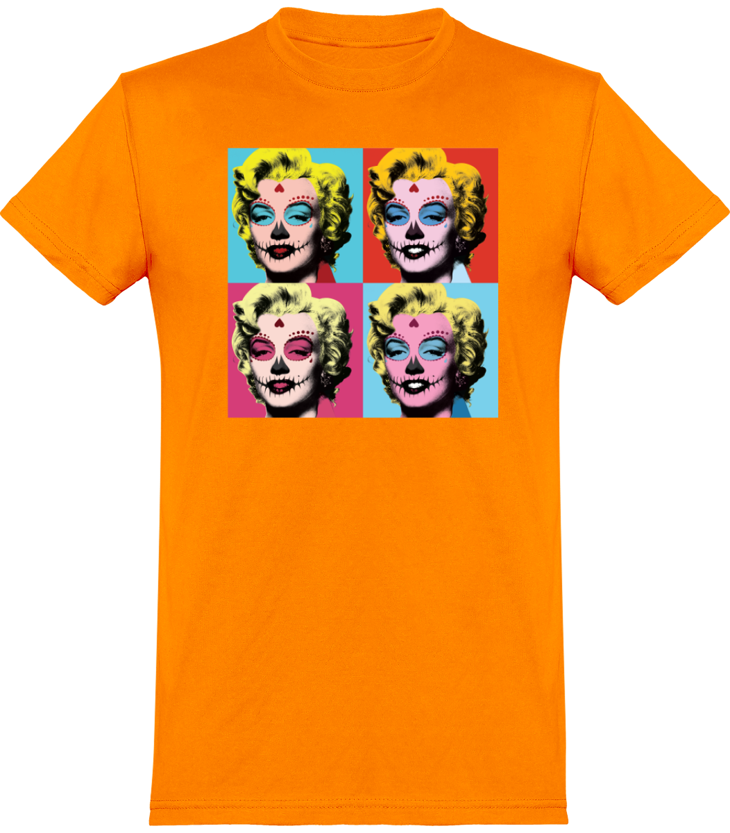 "T-SHIRT HOMME ""HALLOWEEN MARILYN"""