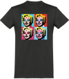 "T-SHIRT HOMME ""HALLOWEEN MARILYN""-Gris-XS-T shirt drôle Passion Bouffe"