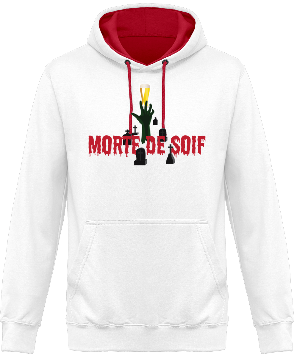 "SWEAT À CAPUCHE ""MORTE DE SOIF"""
