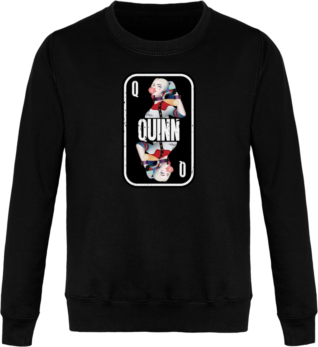 "Sweat ""Harley Quinn"" Col Rond Unisexe"