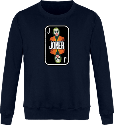 "Sweat ""Joker"" Col Rond Unisexe"