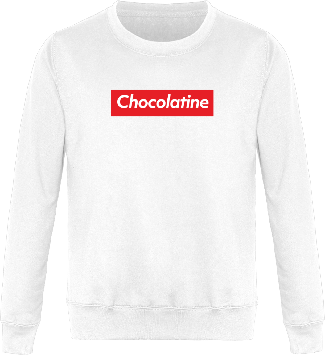 "Sweat ""Chocolatine"" Col Rond Unisexe"