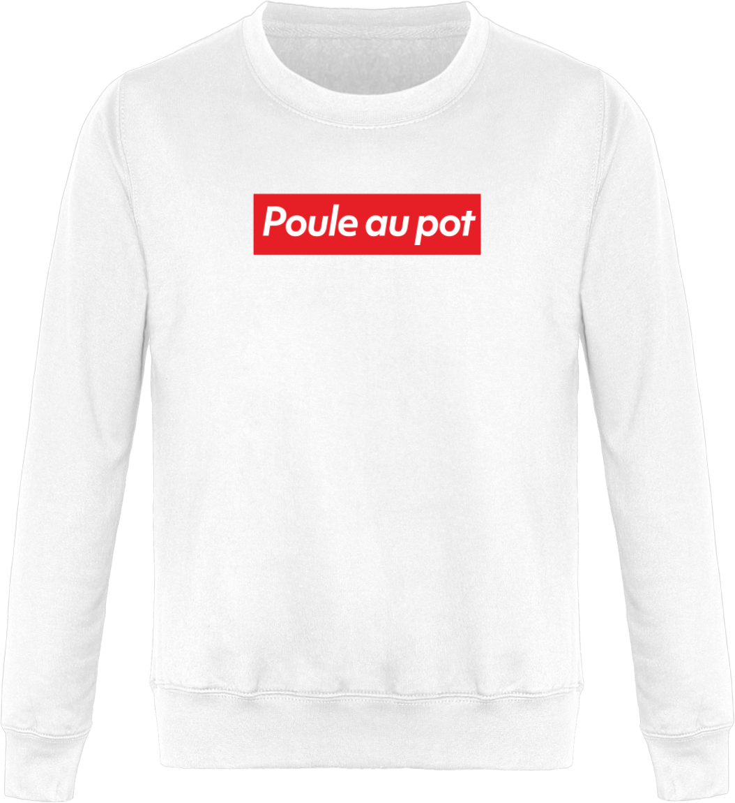 "Sweat ""Poule au pot"" Col Rond Unisexe"