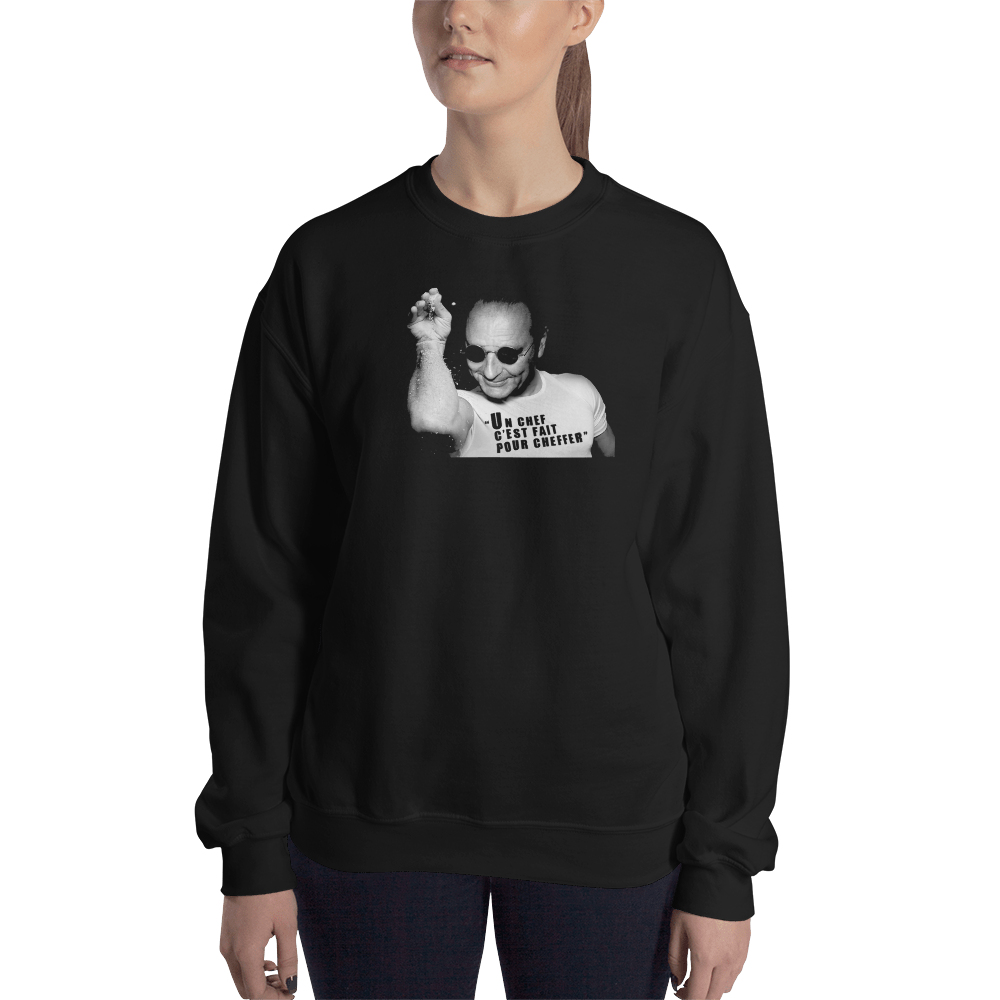 "SWEAT ""JACQUES CHIRAC CHEFFER"" Femme"