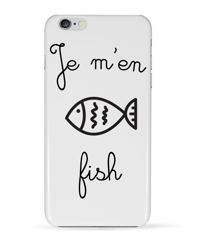 "Coque Iphone ""Je m'en fish"""
