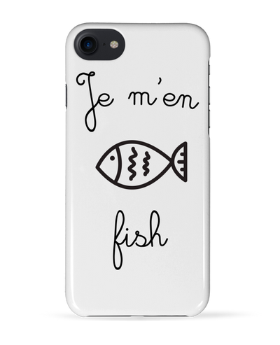 "Coque Iphone ""Je m'en fish""-Passion Bouffe"