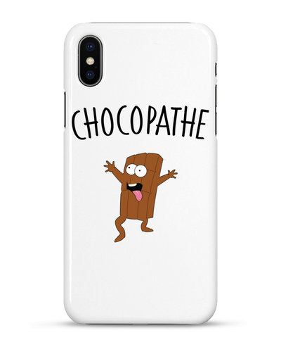 "Coque Iphone ""Chocopathe""-Passion Bouffe"
