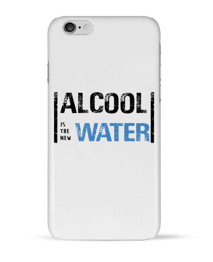 "Coque 3D Iphone  ""Alcool is the new water"""