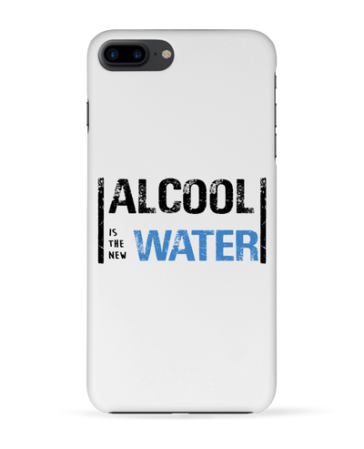 "Coque 3D Iphone ""Alcool is the new water""-Passion Bouffe"