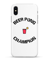 "Coque 3D Iphone ""Beer Pong Champion""-Passion Bouffe"